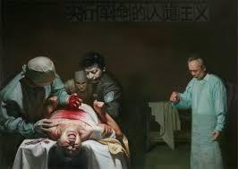 Ảnh một ca mổ cướp nội tạng của học viên Pháp luân công ở Trung Quốc