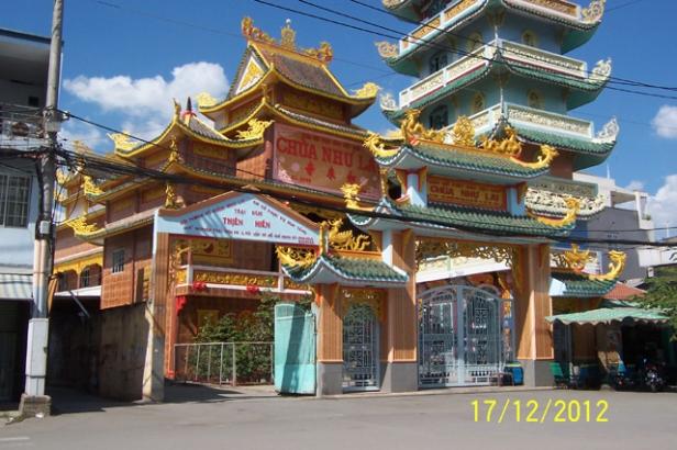 Chùa Kỳ Quang II, quận Gò Vấp thờ Rồng.