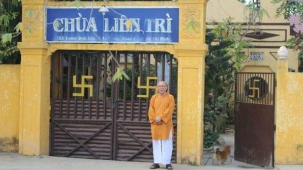 Hòa thượng Thích Không Tánh và chùa Liên Trì, lúc chùa chưa bị chính quyền đập bỏ.