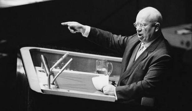 """""""Bài diễn văn bí mật"""" của Nikita Khrushchev tố cáo Stalin tại Đại hội XX của Đảng Cộng sản Liên Xô diễn ra cách đây 50 năm [1956]."""